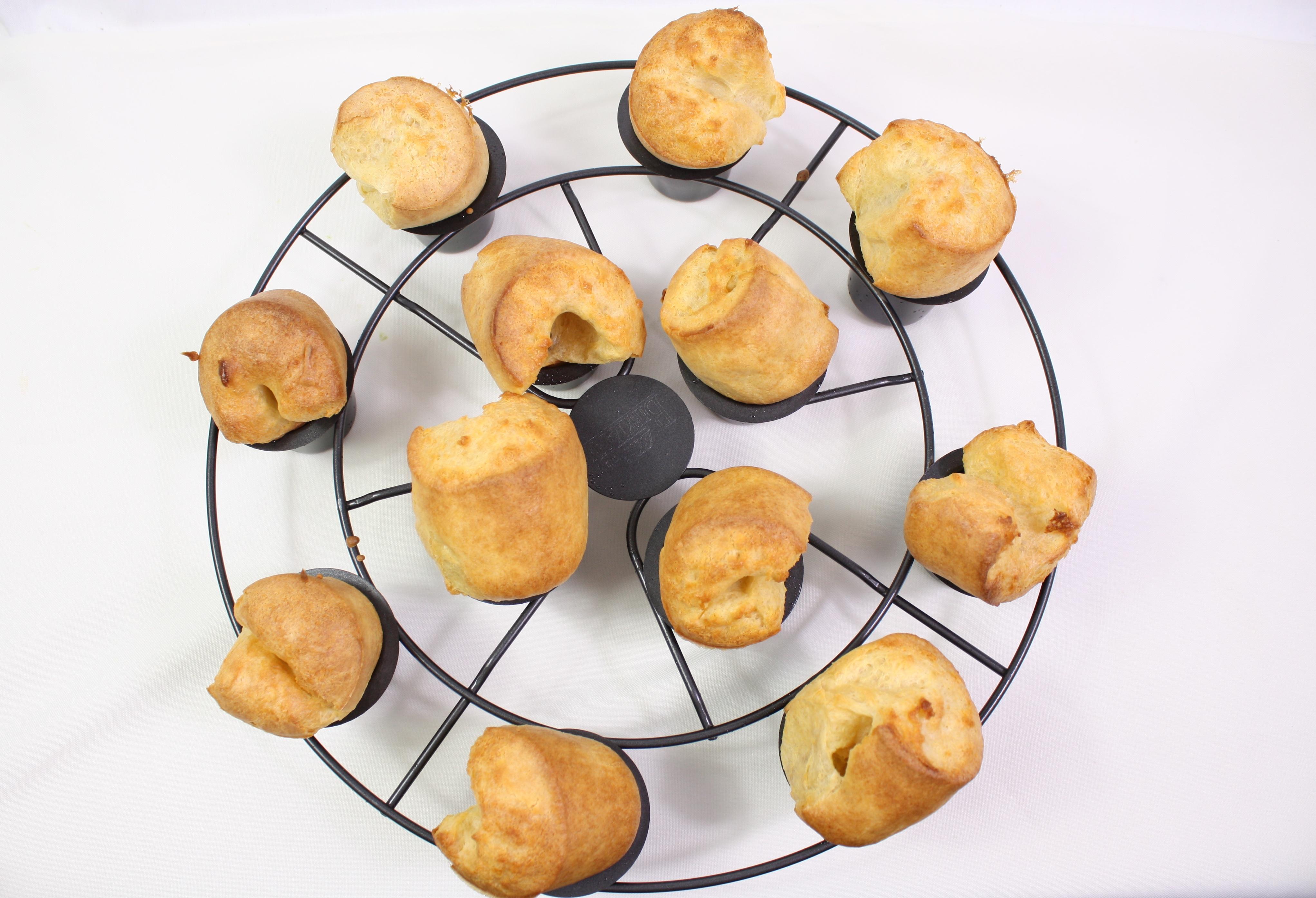 süße Popovers zum Frühstück - Friedas Kitchen on my mind