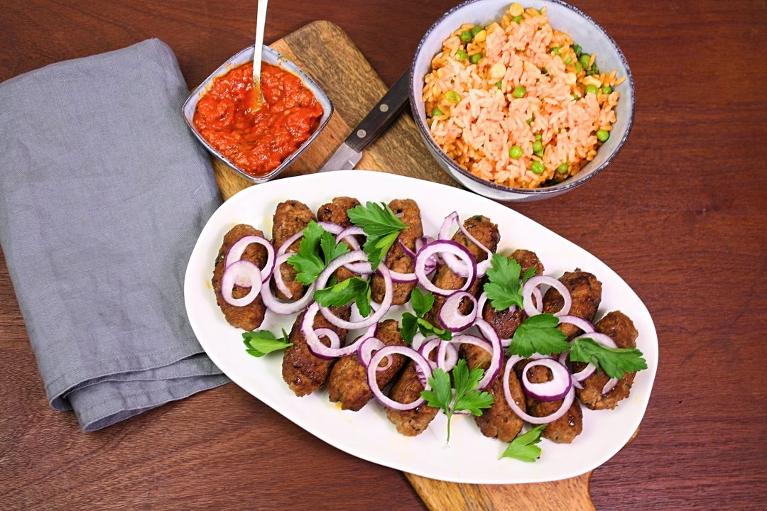 Cevapcici mit Djuvec - Friedas Kitchen on my mind